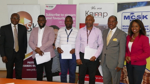 KAMP, PRISK & MCSK Boards sign First Digital Licensing Agreement Under Tripartite Operation  with SONGA  Platform